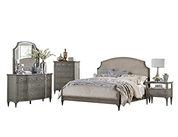 Amazon.com: Arbon French Country 5PC Bedroom Set Queen Bed ...