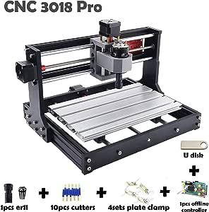 Amazon.com: CNC3018PRO con controlador sin conexión CNC 3018 ...