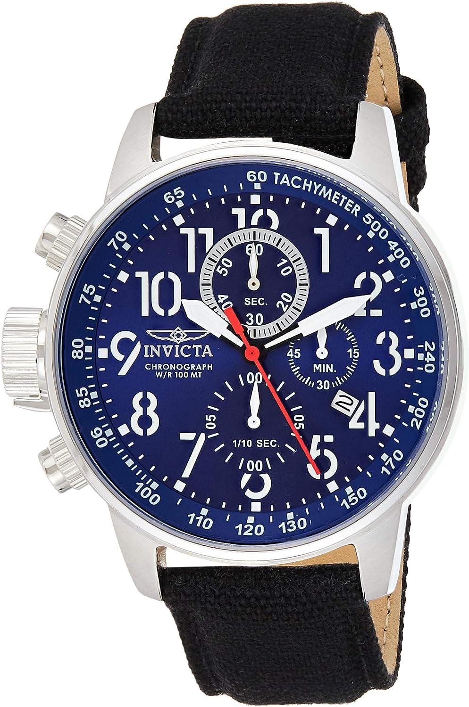 Invicta 1513 I-Force Reloj para Hombre acero inoxidable Cuarzo Esfera azul
