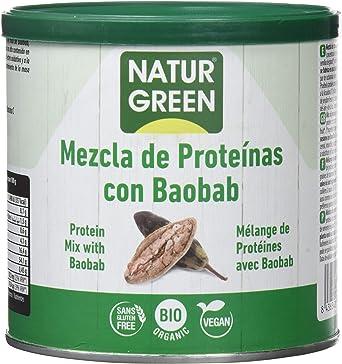 NaturGreen Mezcla de concentrado de proteína ecológica ...