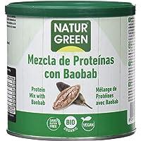NaturGreen Mezcla de concentrado de proteína ecológica (Baobab)
