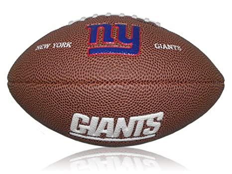 Wilson Football NFL Giants Logo Mini - Balón de fútbol Americano ...