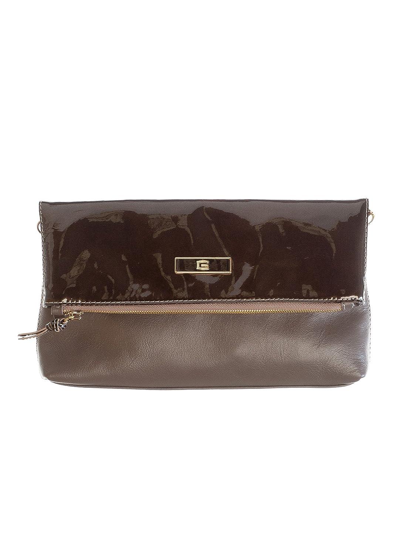 Elizabetta Genuine Italian Leather Clutch Evening Handbags, Made in Italy