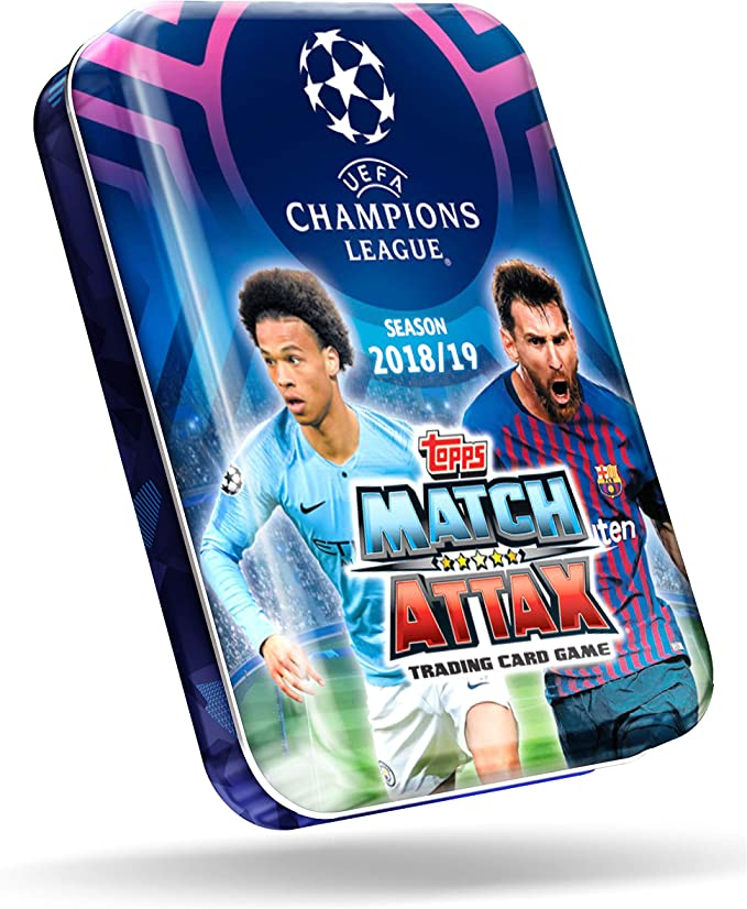 2018//19 Tarjetas Match Attax Uefa Champions Futbol-Ofertas Especiales-Compre 3 lleve 1 Gratis