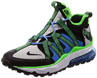 a72cbaa6c6369 Nike Men's Air Max 270 Bowfin Black/Black/Phantom/Photo Blue Mesh Running