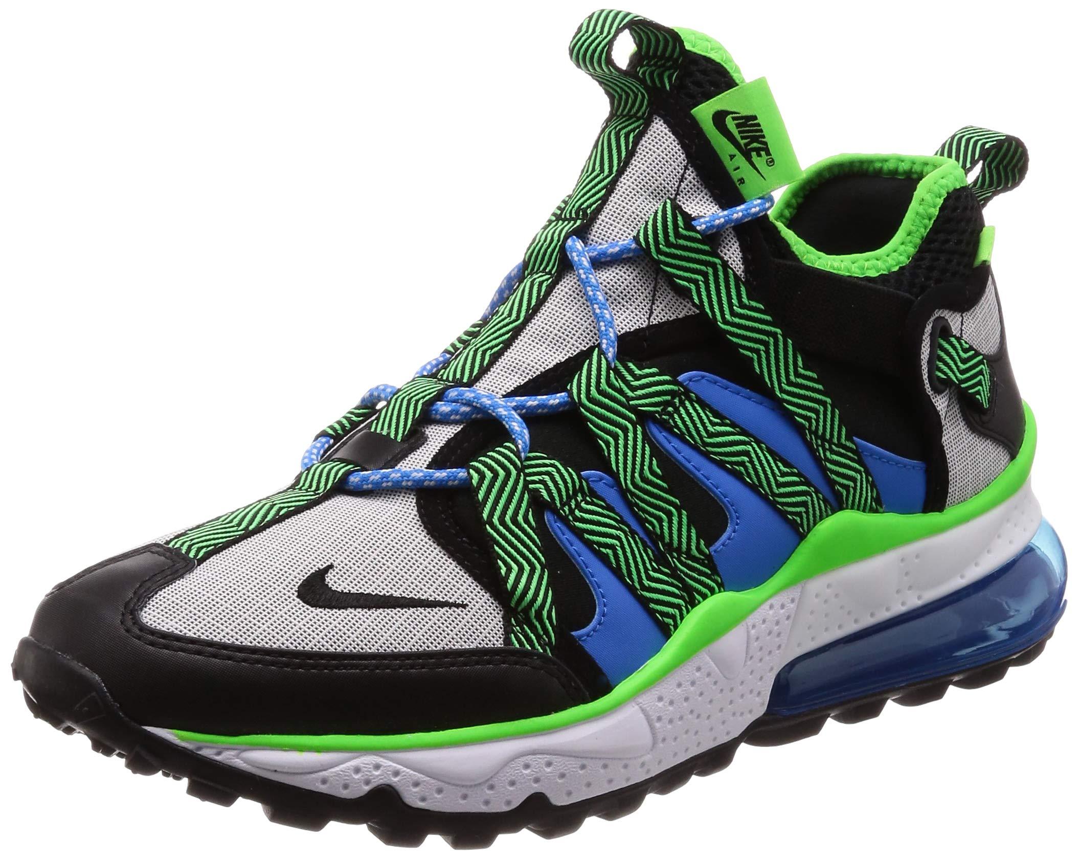 eae8242e75f Galleon - Nike Men s Air Max 270 Bowfin Black Black Phantom Photo Blue Mesh  Running Shoes 11.5 M US