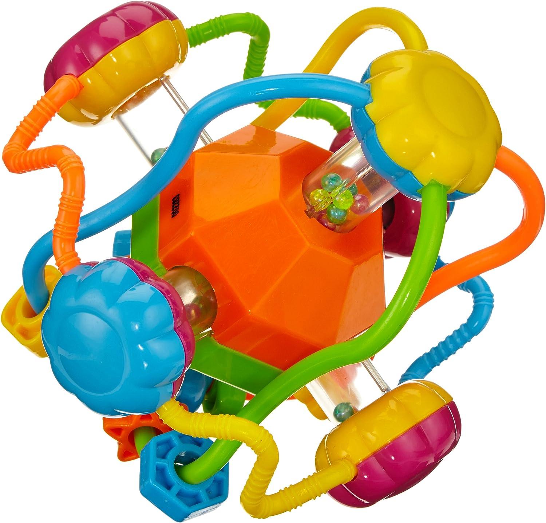 Playgro 40094 - Pelota sonajero de actividades, multicolor: Amazon ...