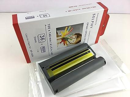 Nuevo COMPATIBLE color tinta/papel Set (36 hojas) Compatible ...