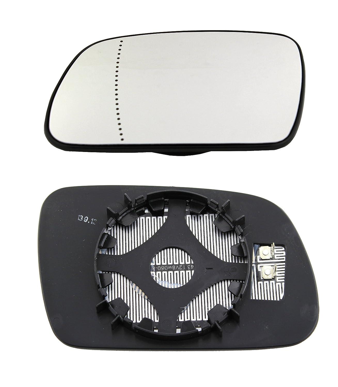 TarosTrade 57-0301-L-62385 Vetro Specchietto Retrovisore Riscaldabile Lato Sinistro DoctorAuto LTD