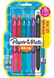 Paper Mate InkJoy Gel Pens, Medium Point, Assorted, 6 Pack, 1959309