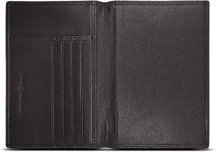 Dark Pink Plus Mi Life Premium Leather Passport Holder Travel Wallet RFID Blocking ID Card Case Cover
