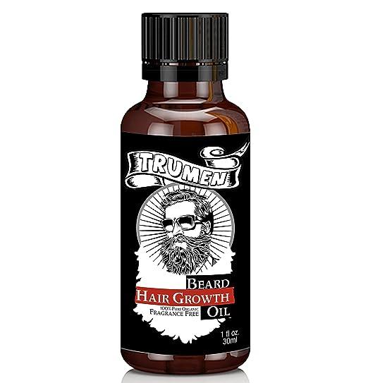 Trumen Beard Growth Oil For Thicker, Soft & Healthy Hair 30Ml (1.01 Fl.Oz)