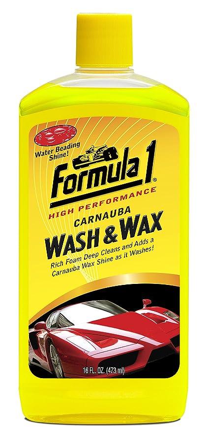 Formula 1 615016 Carnauba Wash And Wax Shampoo 473 Ml