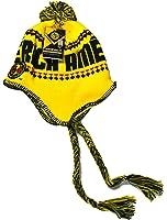 Club America Beanie Peruvian Skull Cap Hat FMF (Yellow)