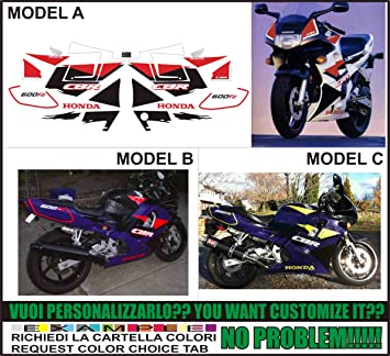 GRAPHICSMOTO h420 Kit adesivi decal stickers HONDA CBR 600 F2 1994 (ability to customize the colors): Amazon.es: Coche y moto