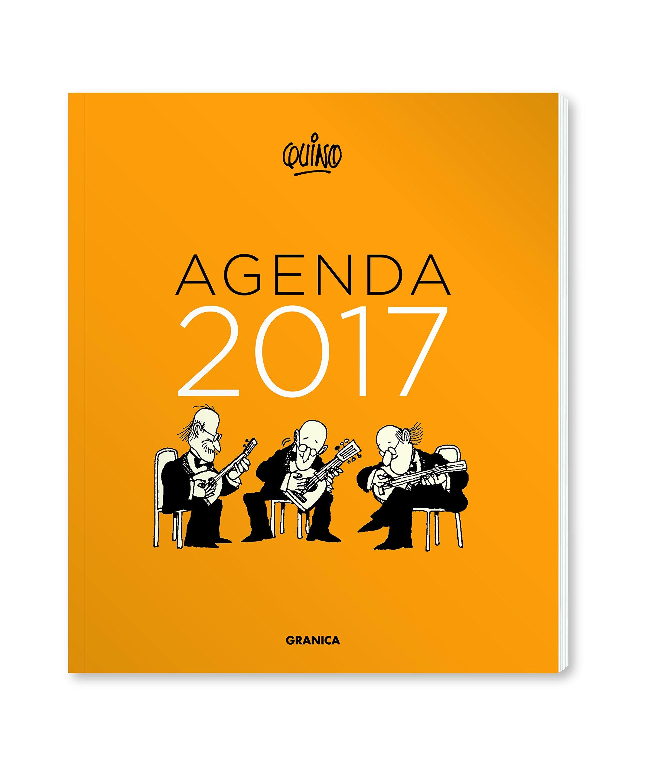 Quino 2017 Agenda encuadernada (Spanish Edition): Quino ...