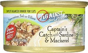 Against The Grain Captain'S Catch Sardine & Mackerel - 24X2.8 Oz