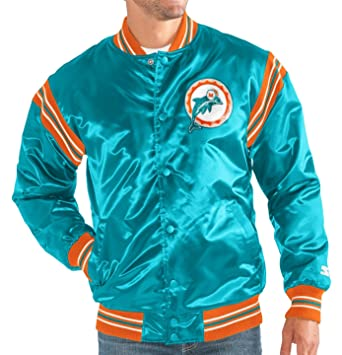 new product 7808b 8209f Miami Dolphins NFL Men's Starter