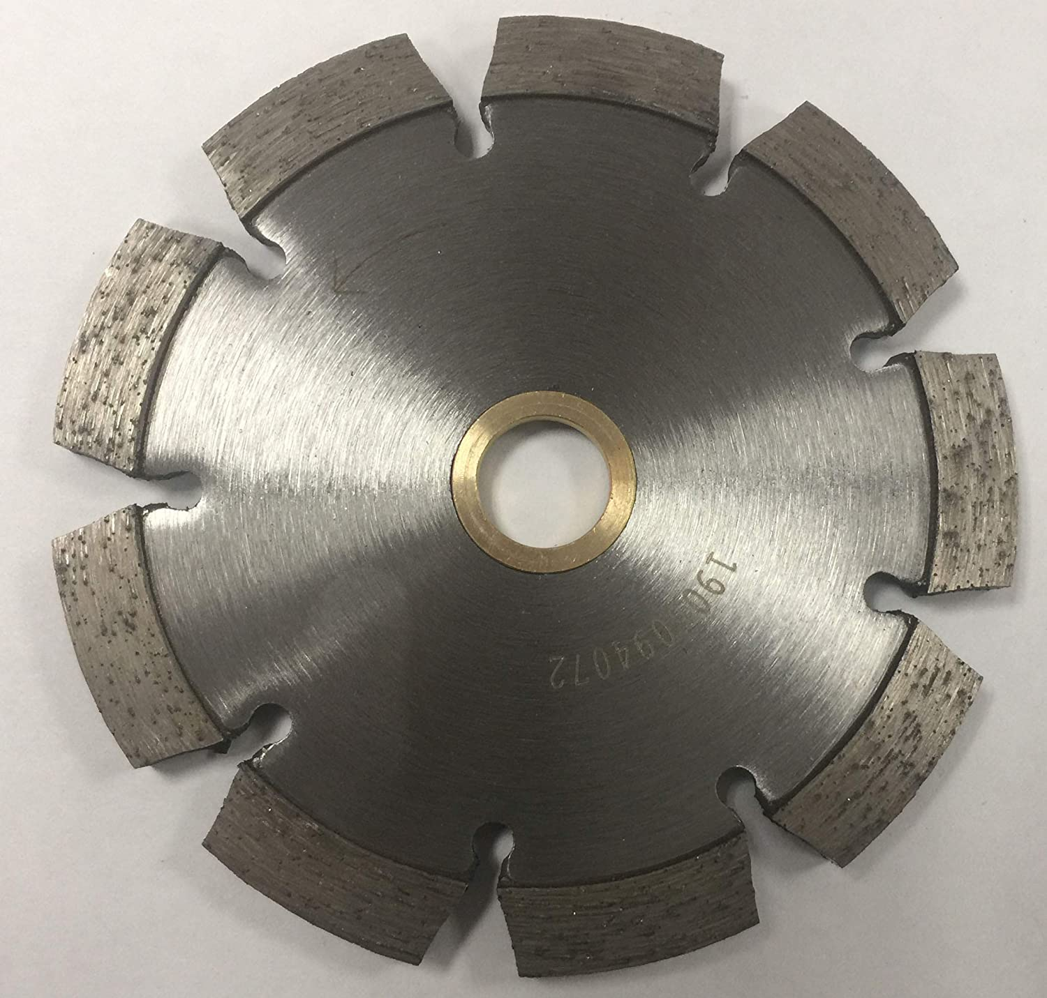 Grout Repair and Cleaning of Concrete Applications 4 Premium Laser Welded Diamond Tuck Point TuckPoint Blades for Fast Mortar Removal
