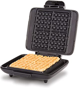DASH No-Drip Belgian Waffle Maker: Waffle Iron 1200W + Waffle Maker Machine For Waffles, Hash Browns, or Any Breakfast, Lunch, & Snacks with Easy ...