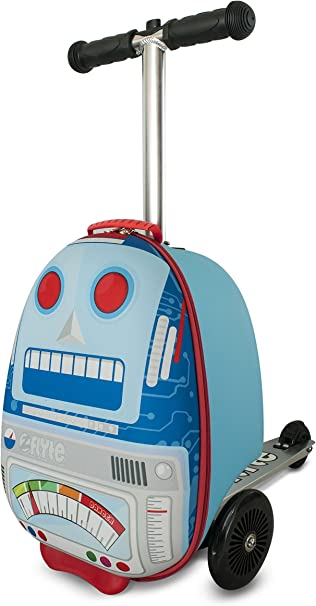Amazon.com: ZincFlyte - Patinete de equipaje para niños ...