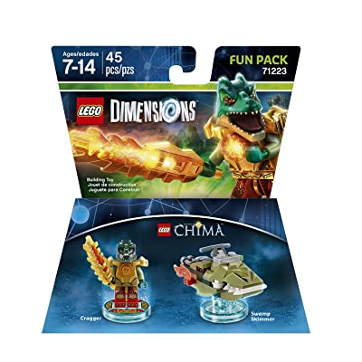 Chima Cragger Fun Pack - LEGO Dimensions: Lego Dimensions Chima Cragger Fun Pack: Video Games