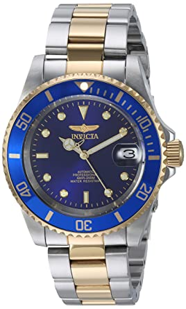16d23f343 Amazon.com  Invicta Men s 8928OB Pro Diver Gold Stainless Steel Two ...