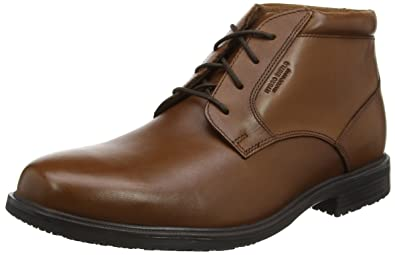 e51ba0f5d9363 Rockport Men's Essential Detail Ii Chukka Boots: Amazon.co.uk: Shoes ...