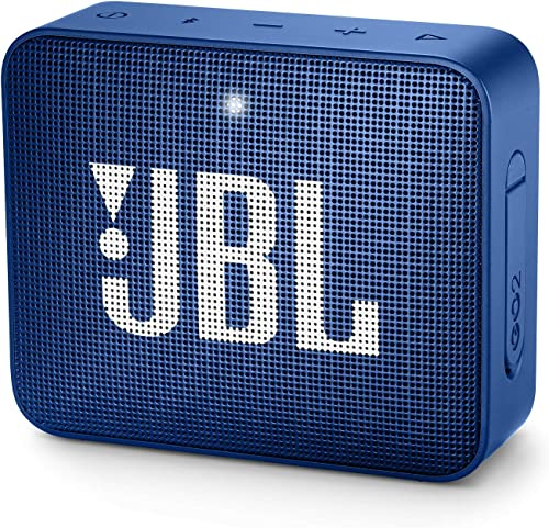 JBL GO2BLU Go 2 Portable Bluetooth Waterproof Speaker Deep Sea Blue