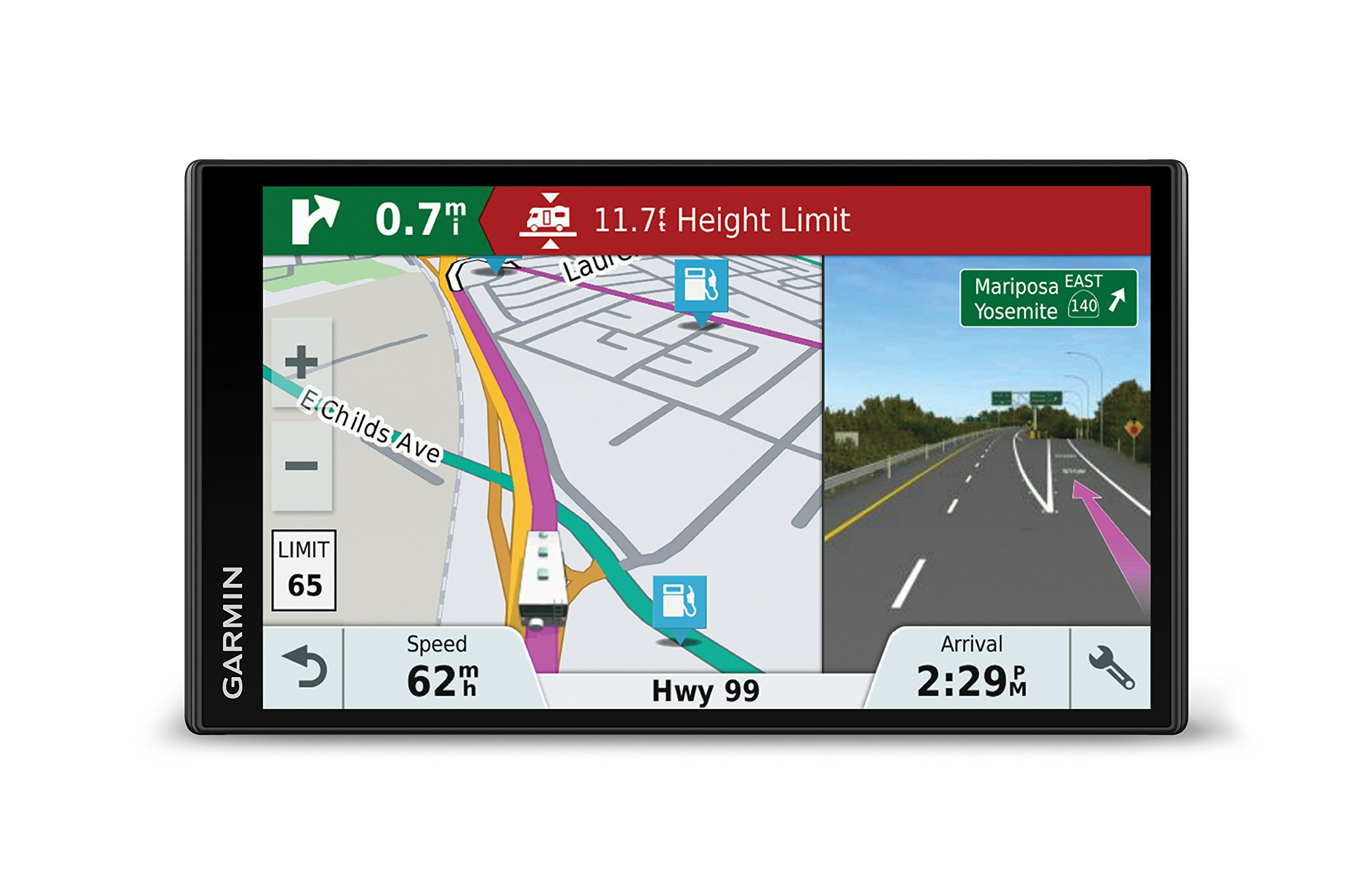 Garmin RV 770 NA LMT-S, Advanced Navigation for RVs and Towable Trailers, Directory of RV Parks & Services, Voice-Activated Navigation by Garmin