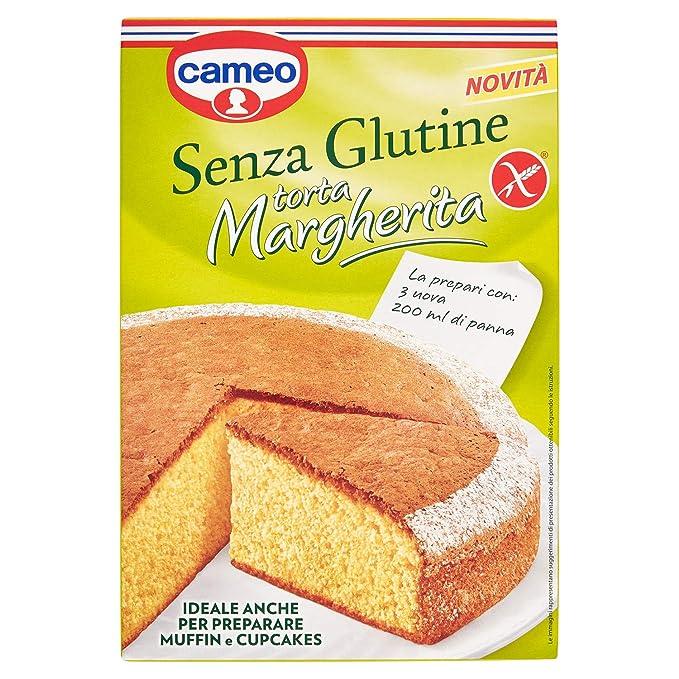 Cameo - Preparado para la torta margherita gluten 364g gratuito