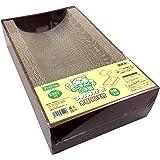 ペットプロ 猫ちゃんのつめみがき U字型 2個パック 木目BOX付