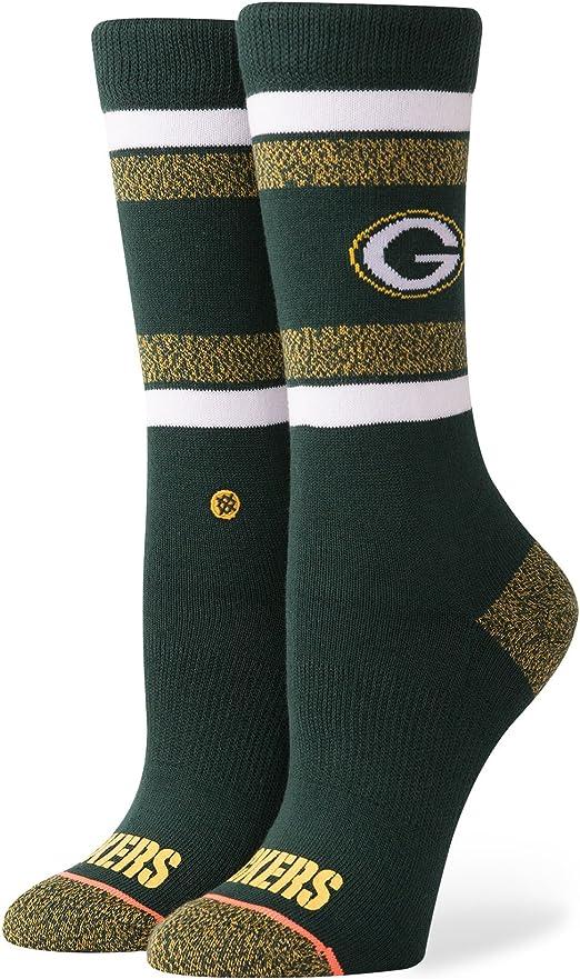 Stance W525C18WPA Womens Packers Classic Crew Sock