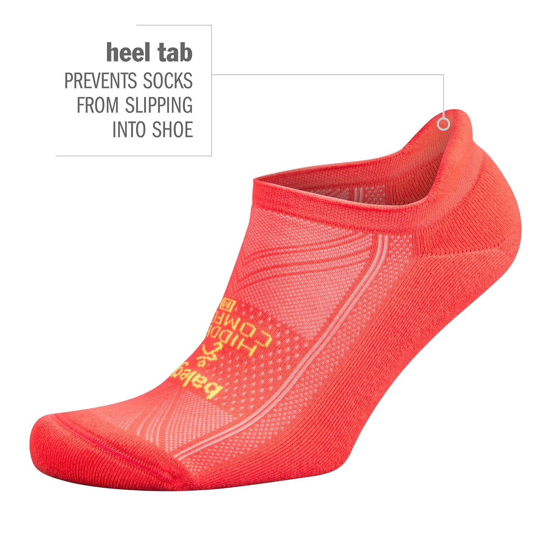 Balega Hidden Comfort No-Show Running Socks for Men and Women (1 Pair), Charcoal, Large by Balega (Image #5)