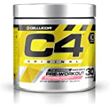 Cellucor C4 Original Explosive Pre-Workout Supplement, Strawberry Margarita, 6.3 Ounce