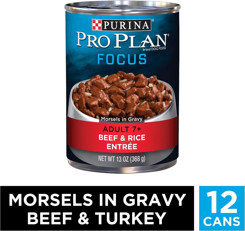 Purina Pro Plan SAVOR Senior 7 Shredded Blend Adult Dry Dog Food Wet Dog Food
