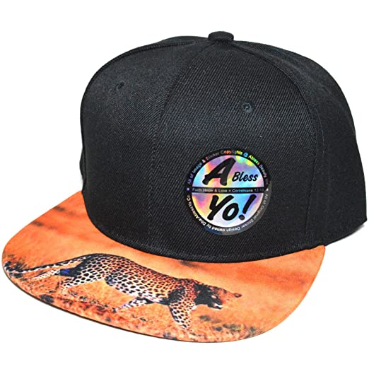Sublimation Printed on Visor Fashion Snapback Flat Bill Cap Baseball Hat  AYO1031 (EAGLE) at Amazon Men s Clothing store  dda49ac5ba40