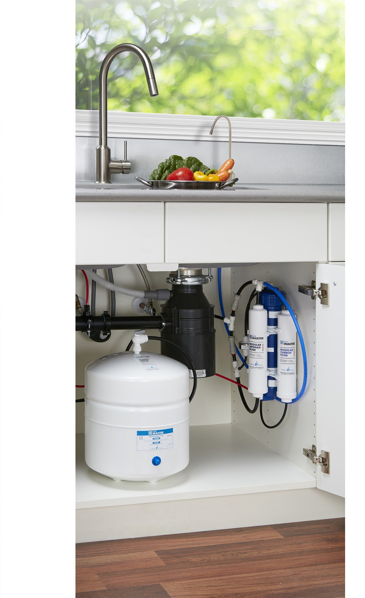 Home Master TMAFC-ERP-L Artesian Full Contact with Permeate Pump Loaded Undersink Reverse Osmosis Water Filter System by Home Master (Image #2)