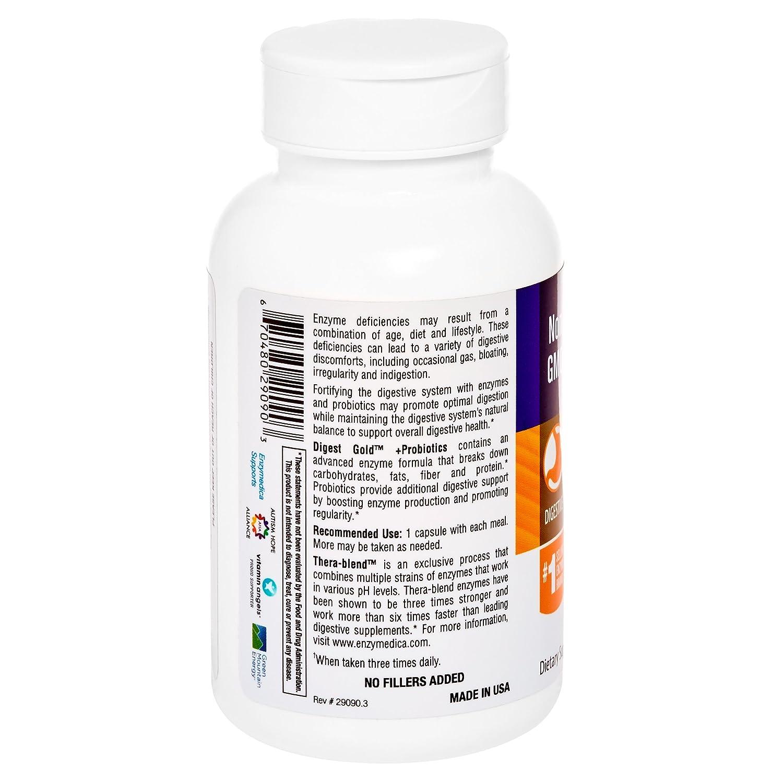 Amazon Enzymedica Digest Gold Probiotics Advanced