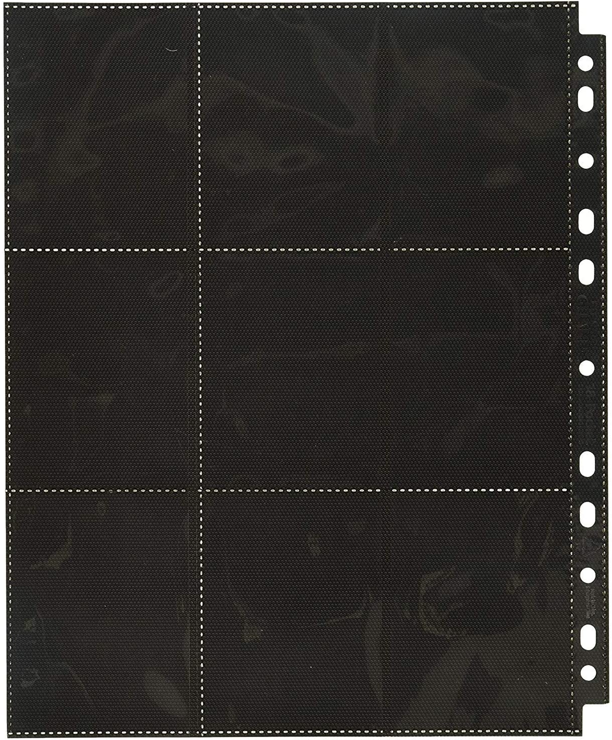 Details about  /10 BCW GAMING SIDE LOADING 18-POCKET PRO BINDER PAGES
