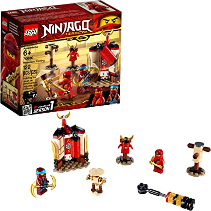 LEGO NINJAGO Legacy Monastery Training 70680 Building Kit, 2019 (122 Pieces)