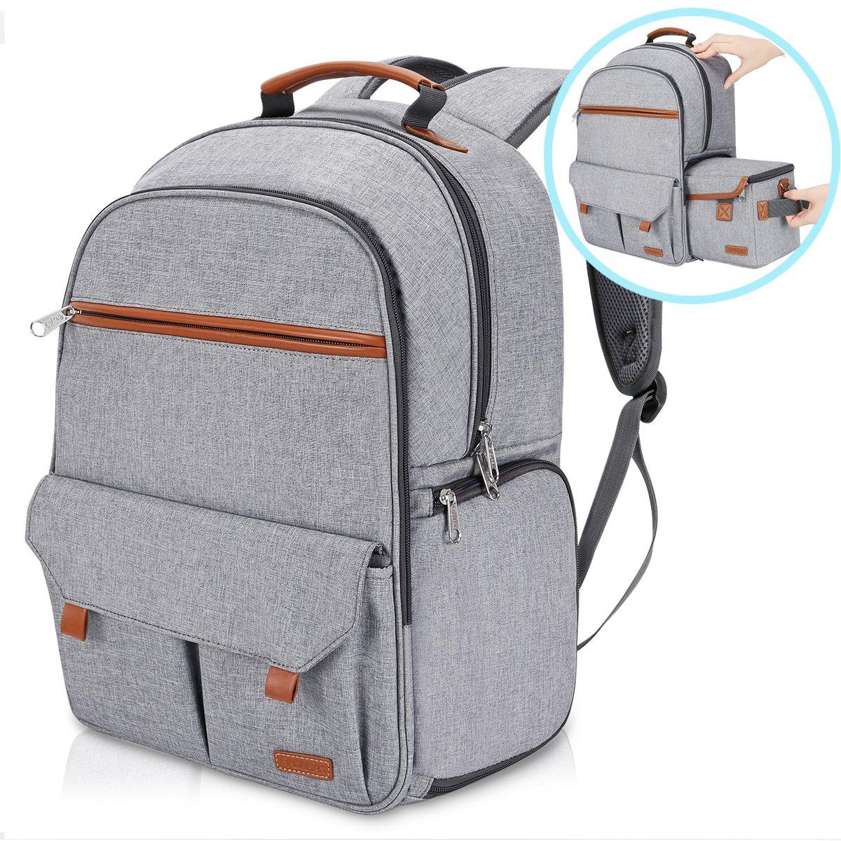 Endurax Waterproof Camera Backpack for Women and Men Fits 15.6'' Laptop with Build-in DSLR Shoulder Photographer Bag