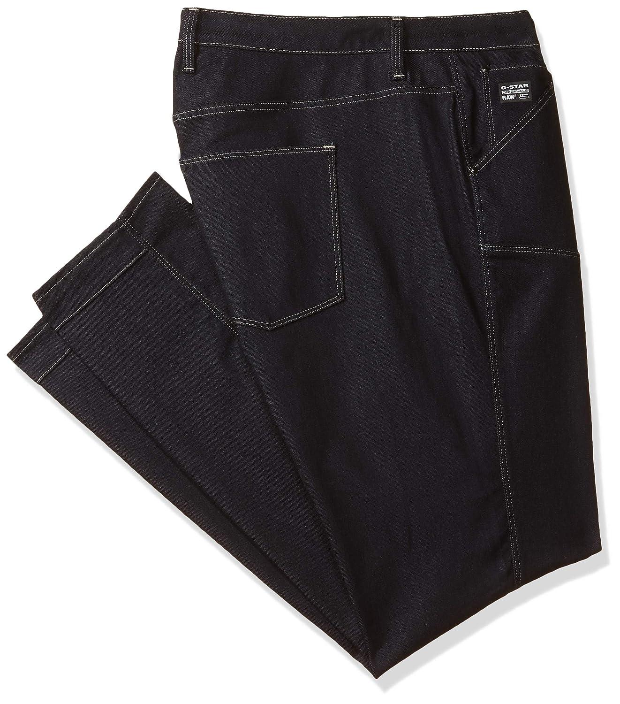 TALLA 26W / 30L. G-STAR RAW 5620 Elwood Mid Waist Skinny Jeans para Mujer