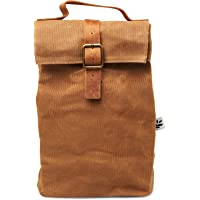 Saged Waxed Canvas Lunch Bag Reusable and Washable Eco-Friendly Tactical Lunch Box