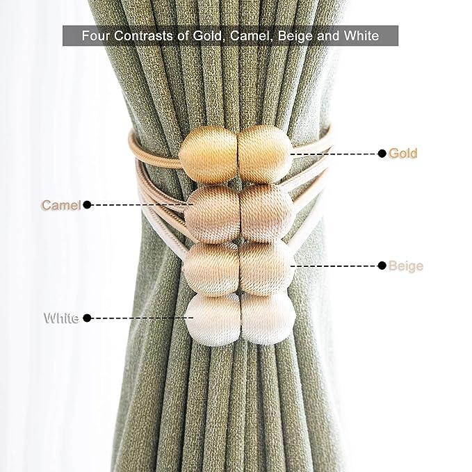 Curtain Polyester Yarn Rope Tie Backs Tiebacks Holdbacks Home Decor YI