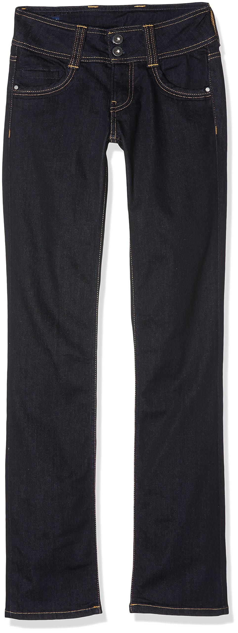 Pepe Jeans Womens Gen Straight Jeans Blue Size 28 Length 32