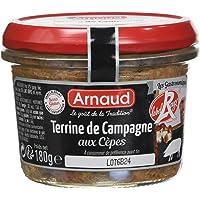 ARNAUD Terrine de Campagne Label Rouge aux Cèpes 180 g