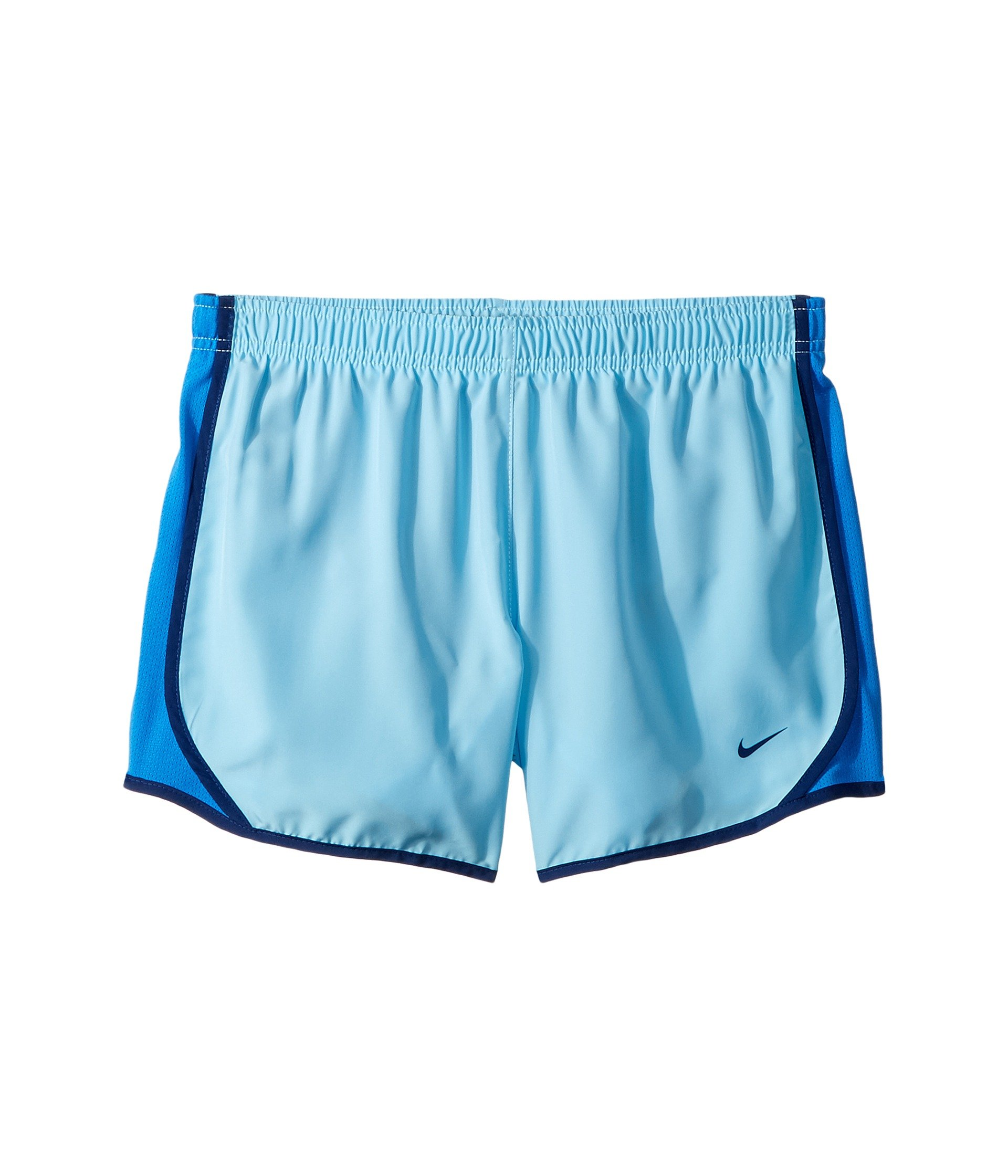 Nike Girl's Dry Tempo Running Shorts (Blue, X-Small) by Nike