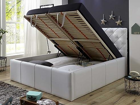 Luxus Polsterbett Mit Bettkasten Nelly Xxl 180X200 Cm