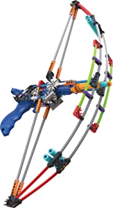 K'NEX K-FORCE Battle Bow Build and Blast Set – 165 Pieces – Ages 8+ Engineering Education Toy